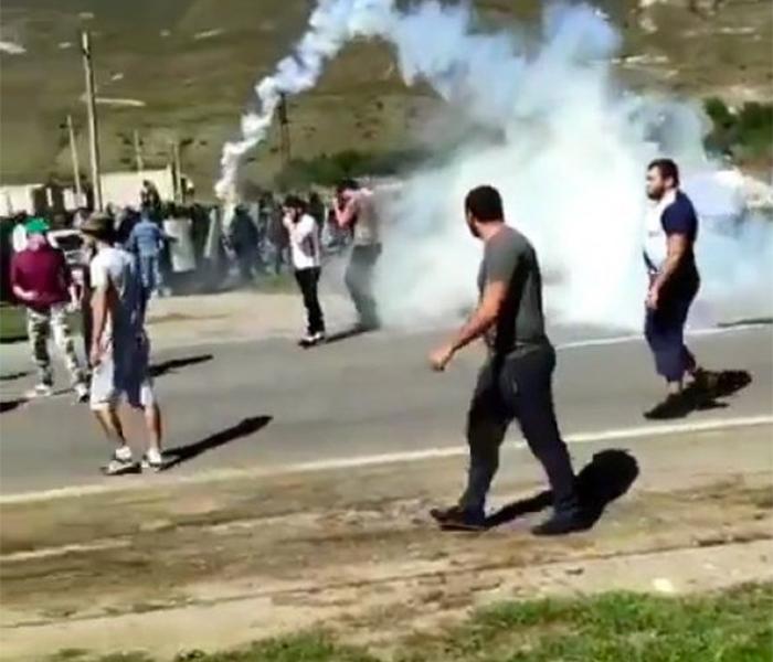 Массовые беспорядки на Кавказе