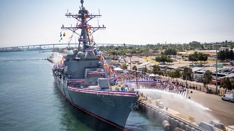 Бывший адмирал ВМСУ предложил направить в Чёрное море эсминцы ВМС США «Арли Бёрк»