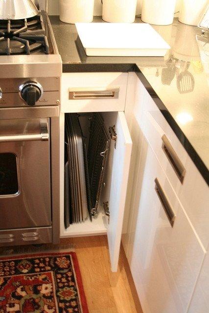 Хранение вещей на кухне