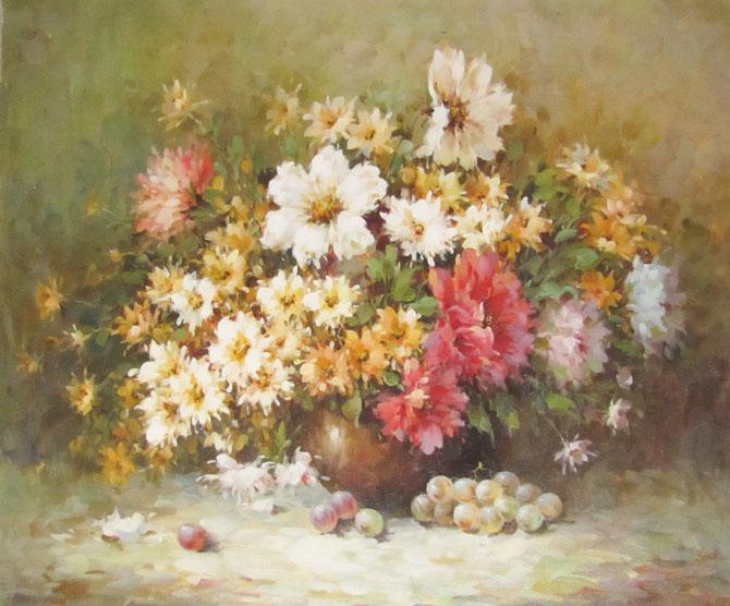 Цветочная нежность в работах художниц