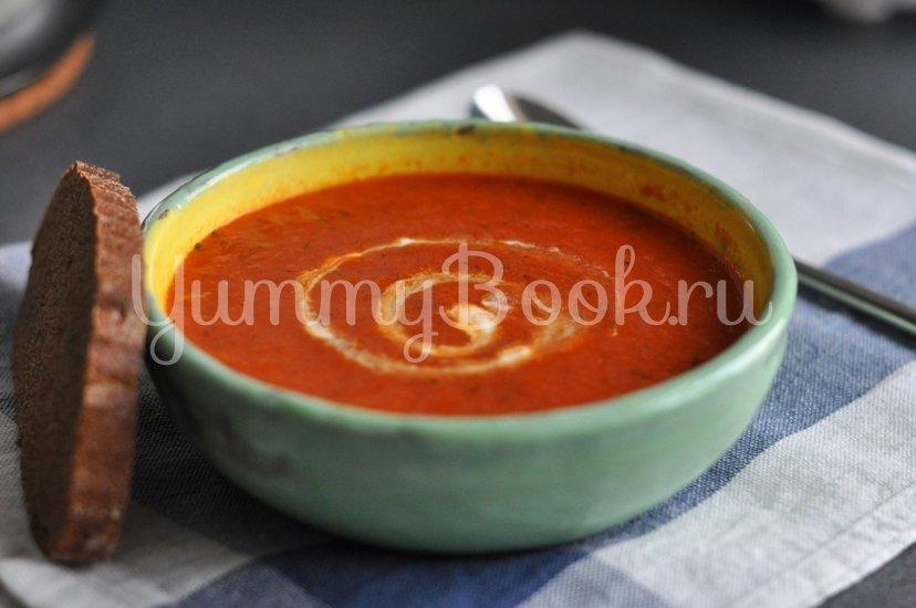 Томатный суп-пюре - шаг 7