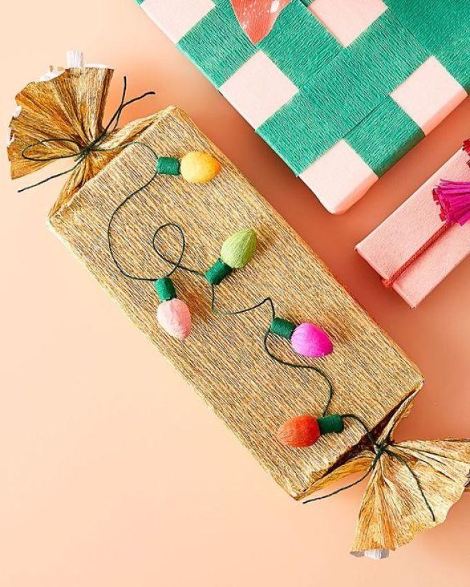 Искусство дарить подарки: 15 идей для новогодней упаковки