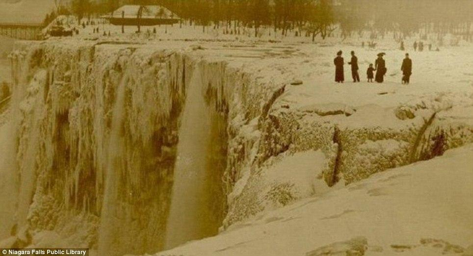 Ледниковый период на Ниагарском водопаде