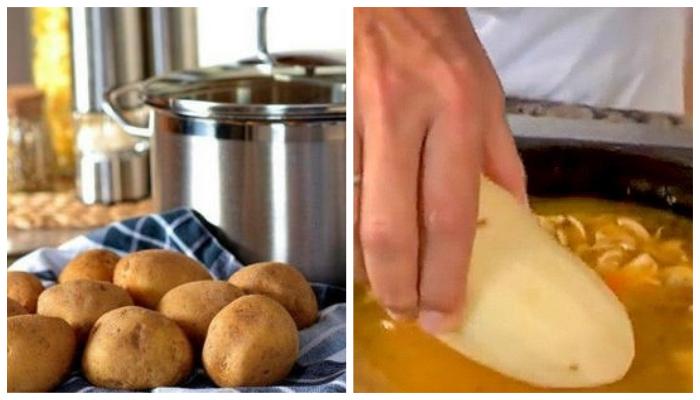Хозяйке на заметку: как быстро спасти блюдо на плите