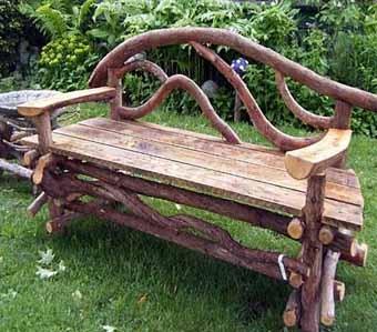 САМОДЕЛКИ. Скамейки для дачи