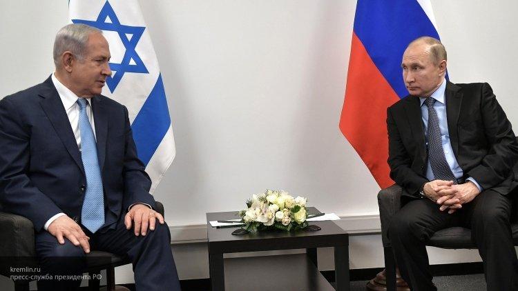 Нетаньяху выразил соболезнования Путину в связи с крушением Ил-20 в Сирии
