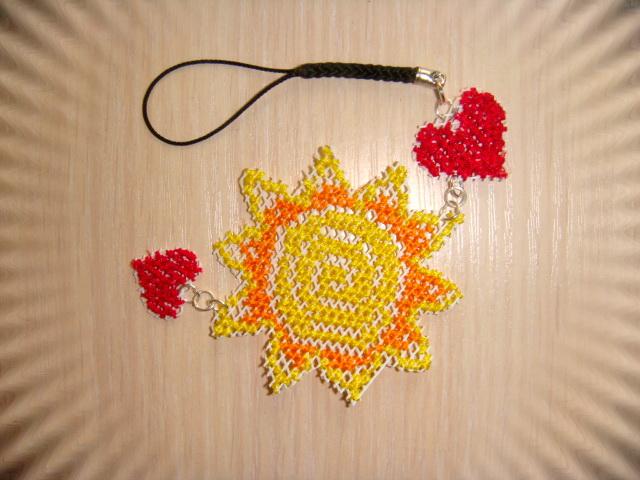 Вышивка крестиком миниатюр на сетке