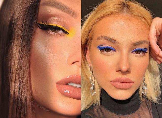 15 идей макияжа с контрастной яркой стрелкой