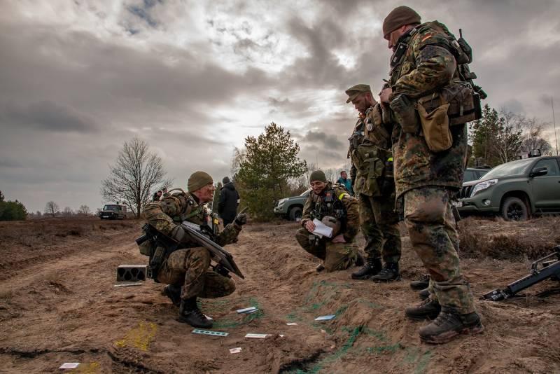 Оборонка ФРГ бьёт тревогу - военный бюджет сокращается в процентном выражении