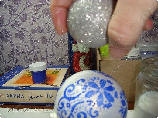 Мастер-класс Новый год Моделирование конструирование Новогодние шарики МК фото 12