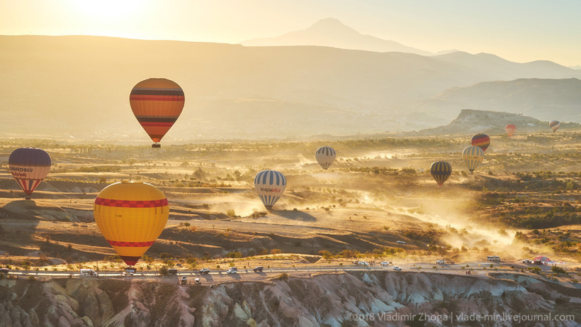 Полет на воздушном шаре в Каппадокии или лучший рассвет в моей жизни