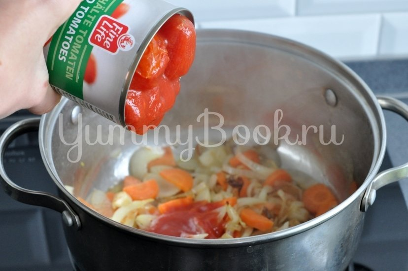 Томатный суп-пюре - шаг 3