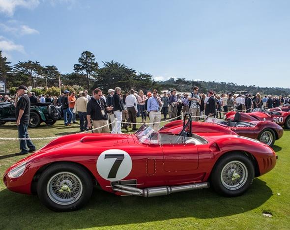 Марка Maserati отметила столетие в Калифорнии