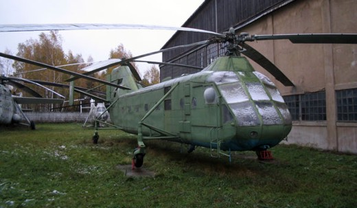 Вертолет Яковлев Як-24