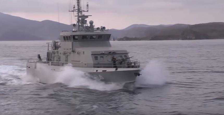 Отряд кораблей Тихоокеанского флота прибыл в порт Китая