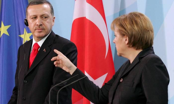 Германия пересмотрит  отношения с Турцией
