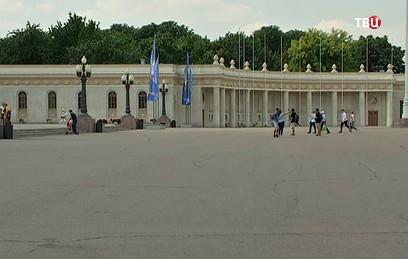 Завершилась реставрация центрального входа в Парк Горького