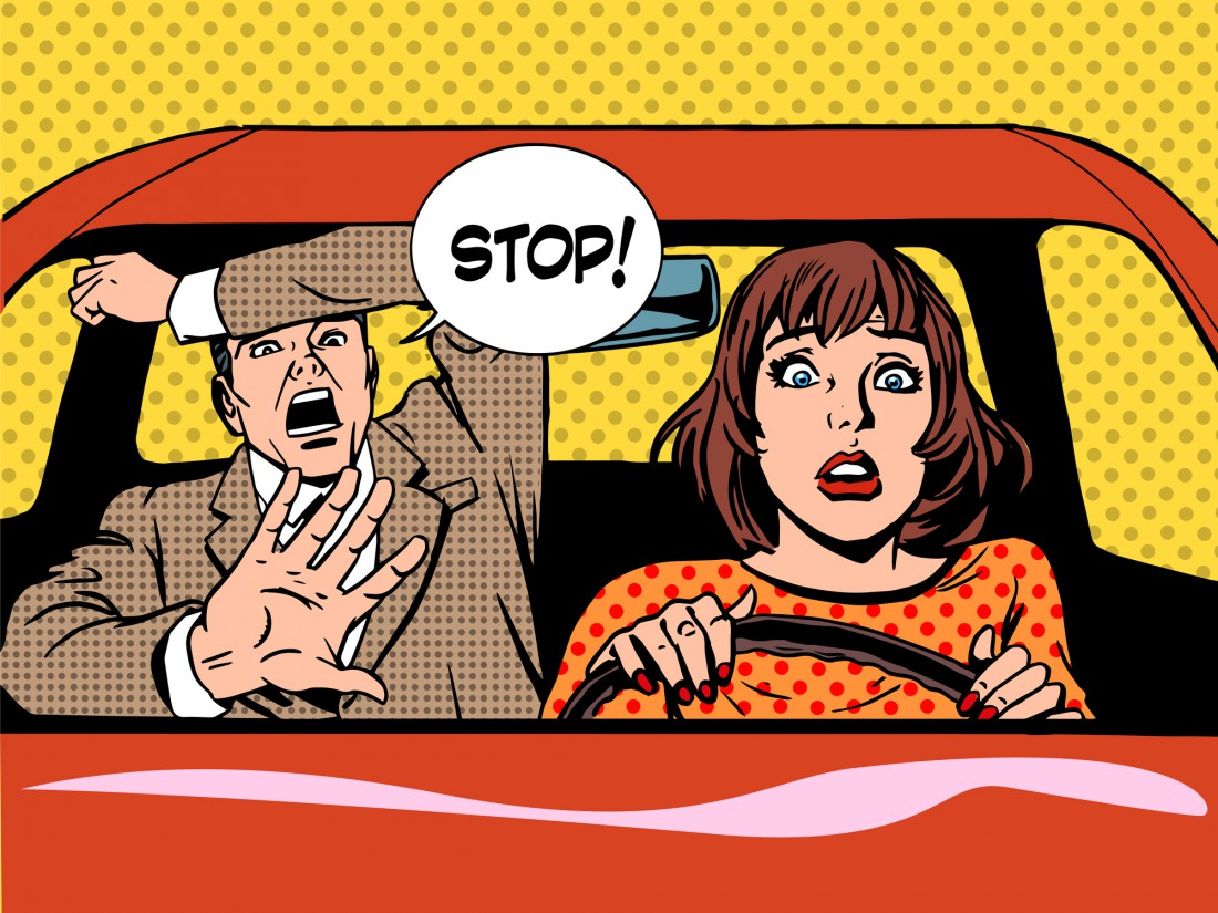 10 мужских аргументов против женщин за рулем
