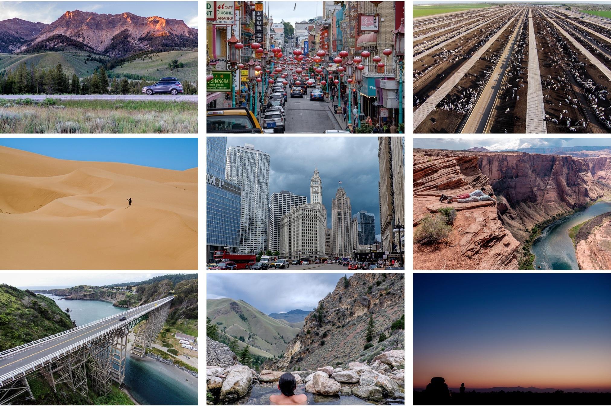 Экскурсия по 50 штатам США