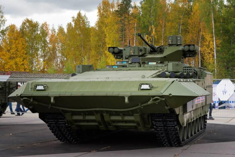 """БМП Т-15 """"Армата"""" сменила калибр"""