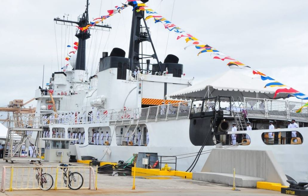 Шри-Ланка получила американский патрульный корабль Sherman