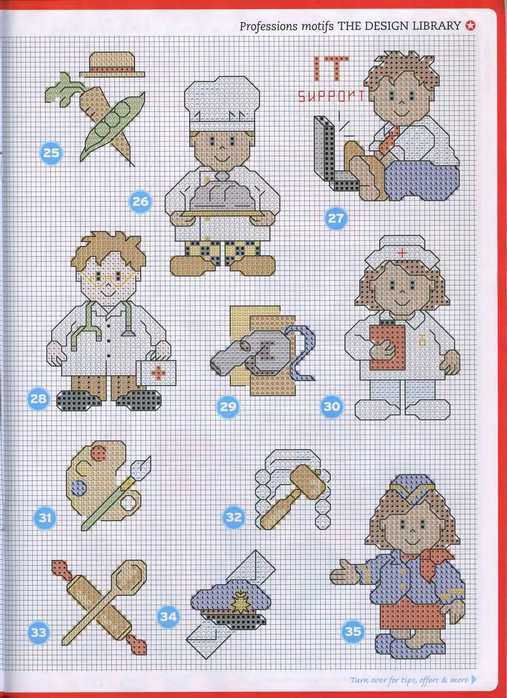 Схемы вышивок крестом на медицинскую тематику