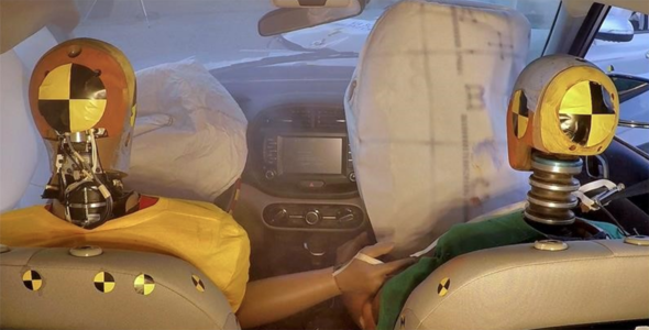 В Hyundai придумали подушки безопасности для множественных ДТП