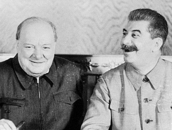 Товарищ Сталин пошутил и Чер…