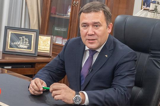 Интервью генерального директора АО «Судостроительная корпорация «Ак Барс» Рената Мистахова