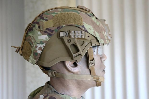 Новый защитный шлем армии США