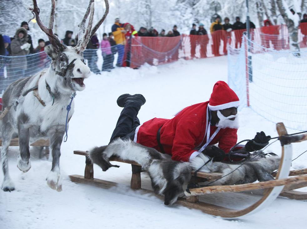 Как выглядит Дед Мороз в раз…