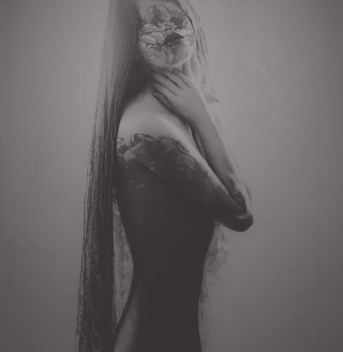 Без лица. Автор работ: фото-иллюстратор Лесли Энн О'Делл (Leslie Ann O'Dell).