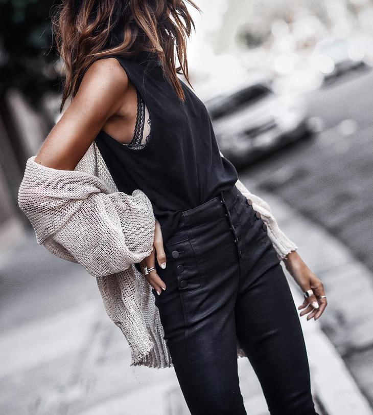 Подборка стильных образов с джинсами осень-зима 2017-2018