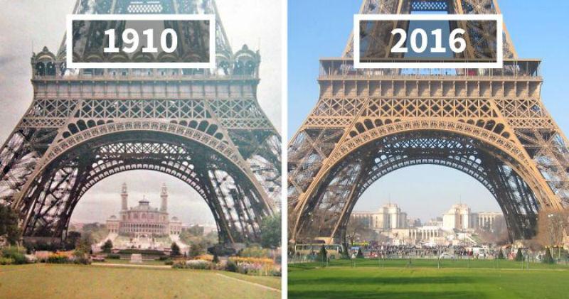 Как изменился мир за 100 лет: фотографии до и после