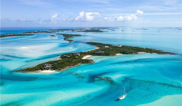 На Багамах выставили на продажу частный остров за 85.000.000$