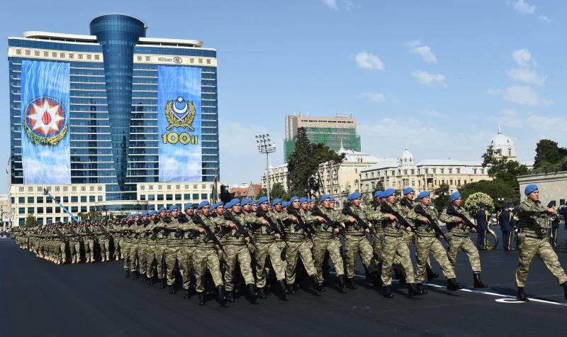 Военный парад в Азербайджане…