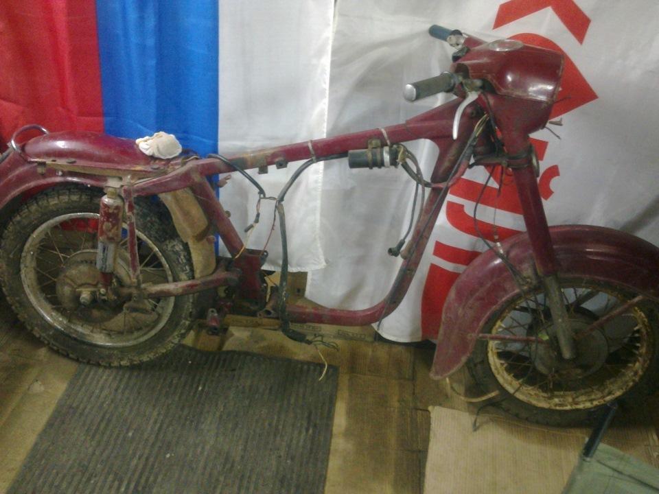 Реставрация мотоцикла JAWA 350 1963