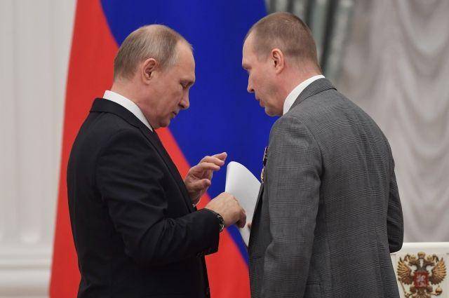 Путин ознакомился с посланием кинематографистов в поддержку Серебренникова