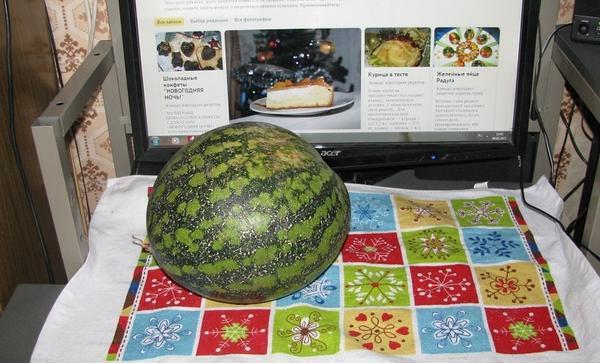 Как хранит арбузы до нового года
