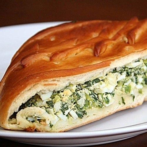 Пирог с луком от Bon Appetit