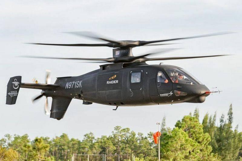 Американский перспективный вертолет S-97 Raider возобновил испытания