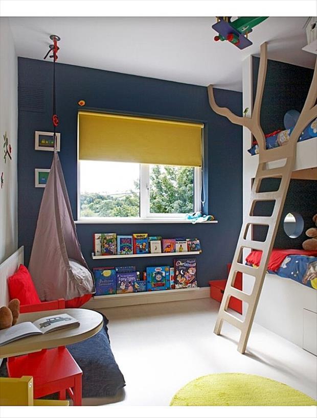 Идеи для оформления детской комнаты фото