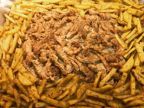 Свинина в горчичном соусе с картофелем в духовке recipe step 7 photo