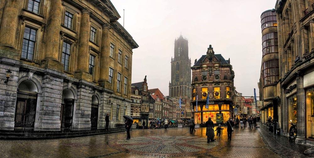 Утрехт - город вокруг башни