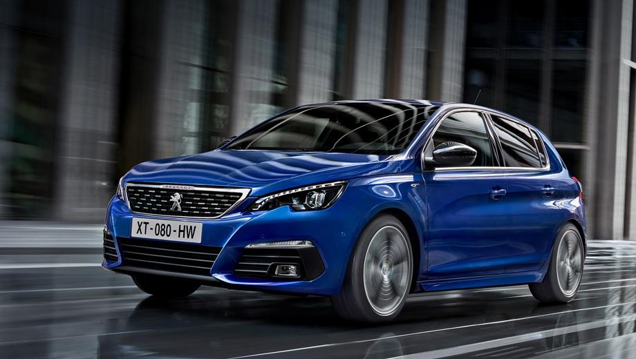 Обновлённый Peugeot 308 доберётся до нас осенью