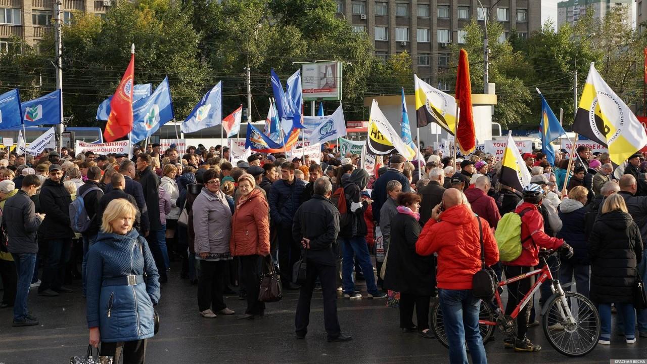 КПРФ в Новосибирске готова идти на митинги Навального