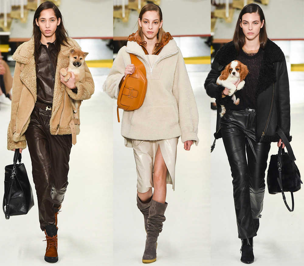 Модные показы — коллекция осень-зима 2018-2019 от Tods