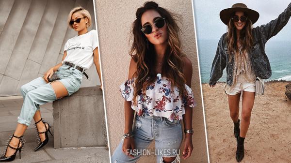 8 летних образов с джинсовыми вещами, от которых вы будете в восторге