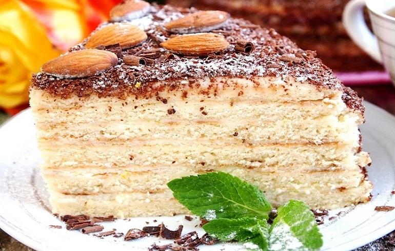 Торт сметанный на сковороде:…