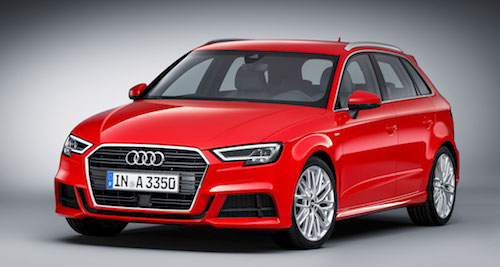 Новый Audi A3 2017 получит 2-литровый турбированный двигатель